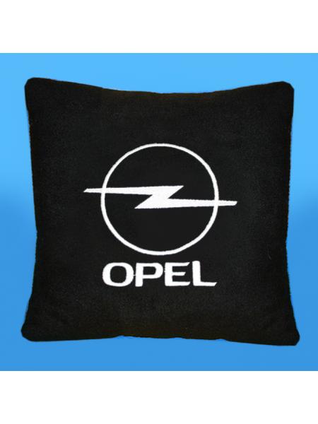 Подушка с вышивкой Opel