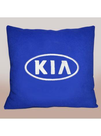 Подушка с вышивкой Kia 2