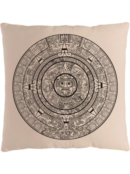 Подушка с принтом Календарь Майя