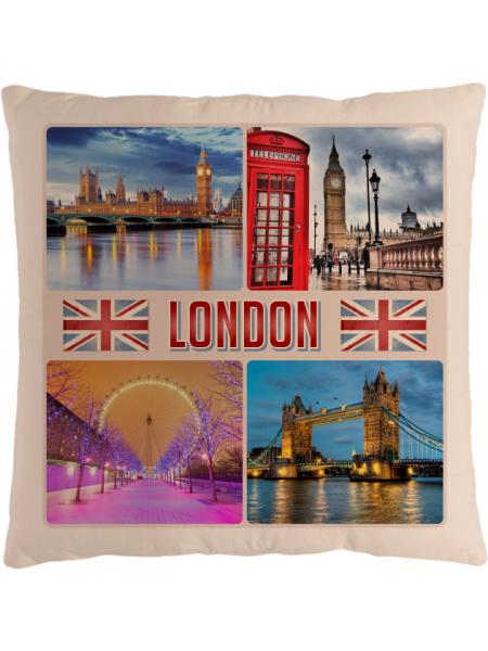 Подушка с фотографией Лондон 3