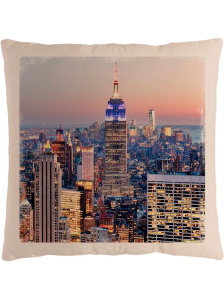 Подушка с фотографией Нью-Йорк 2