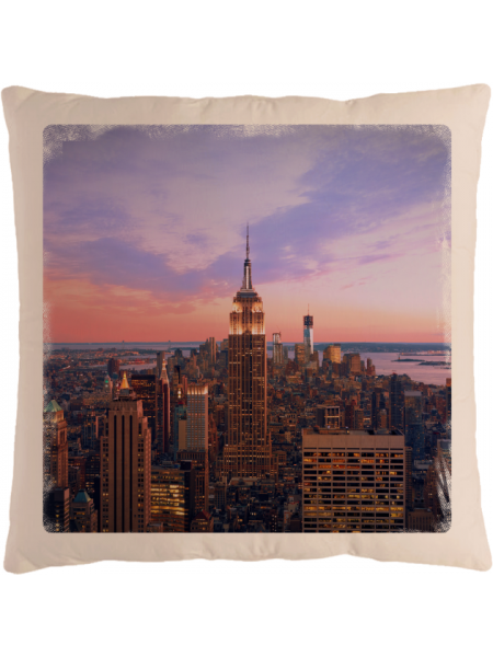 Подушка с фотографией Нью-Йорк 3