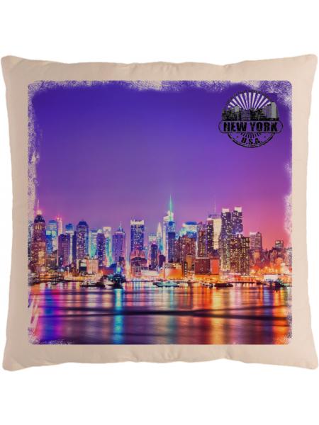 Подушка с фотографией Нью-Йорк 4
