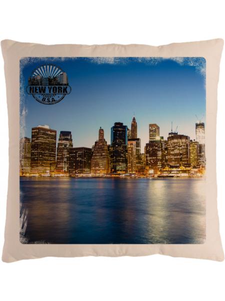 Подушка с фотографией Нью-Йорк 5