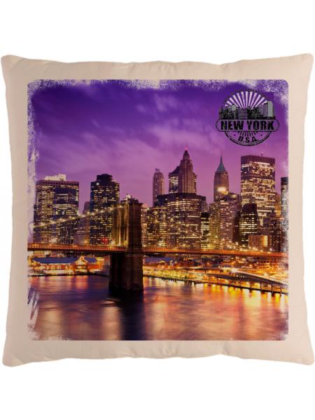 Подушка с фотографией Нью-Йорк 6