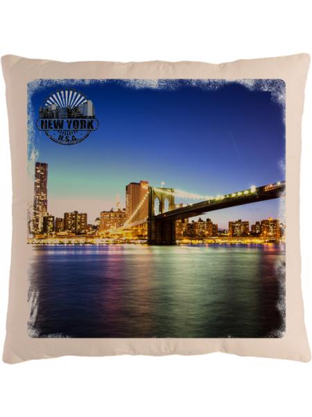 Подушка с фотографией Нью-Йорк 7