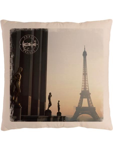 Подушка с фотографией Париж