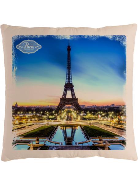 Подушка с фотографией Париж 3