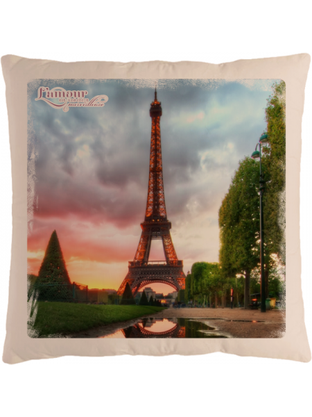 Подушка с фотографией Париж 4